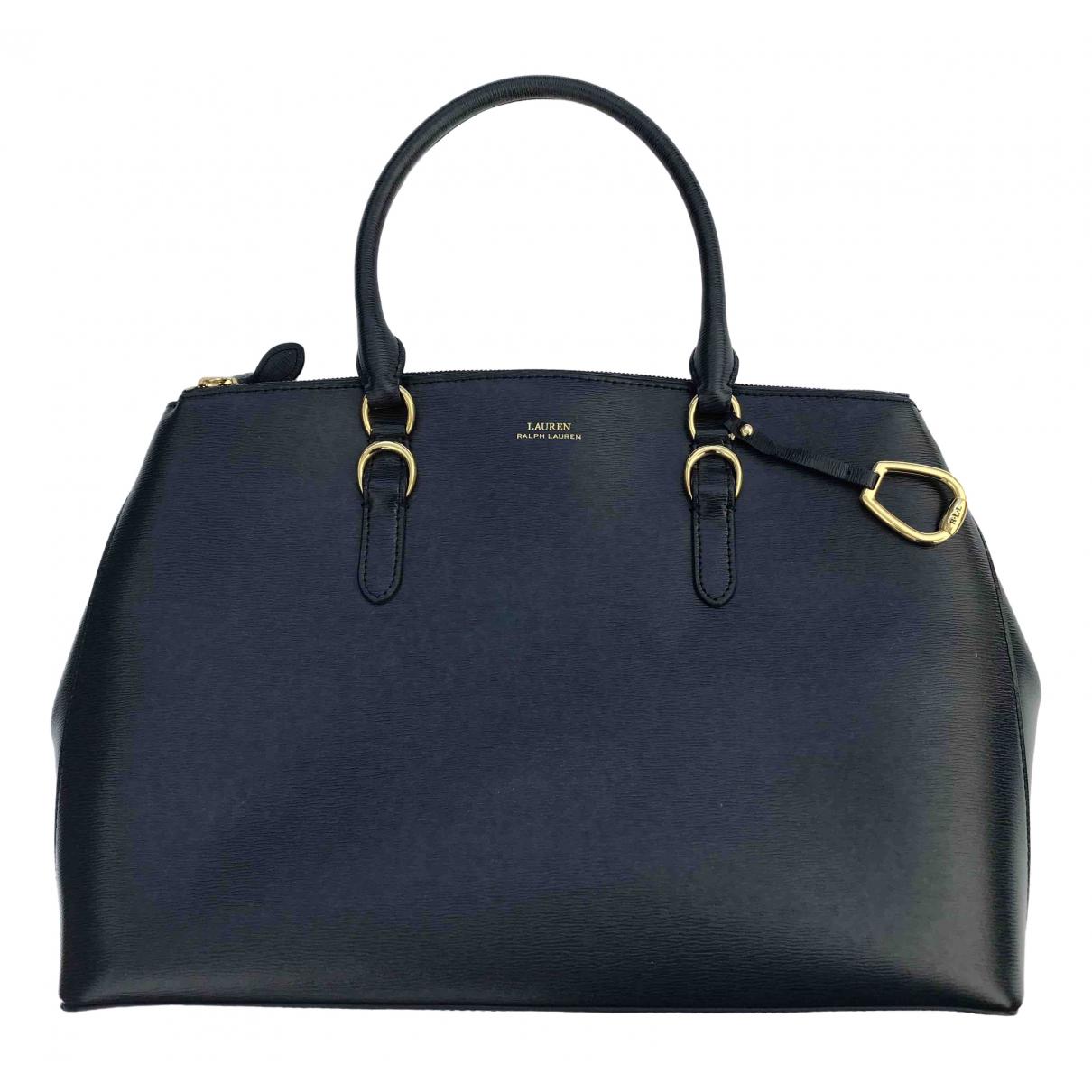 Lauren Ralph Lauren \N Blue Leather handbag for Women \N