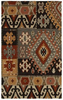 SOWSU810400330508 Southwest SU8104-5' x 8' Hand-Tufted 100% Wool Rug in Gray  Rectangle