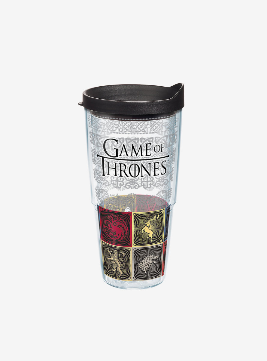 Game of Thrones House Sigil 24oz Classic Tumbler With Lid