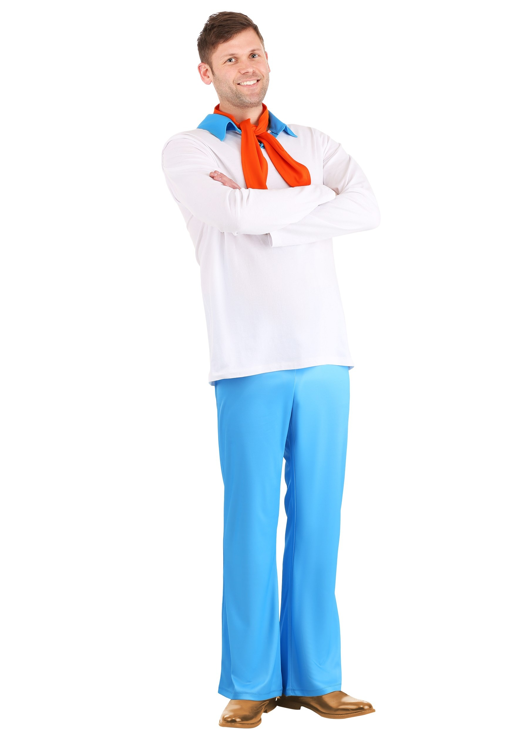 Classic Plus Size Scooby Doo Fred Costume