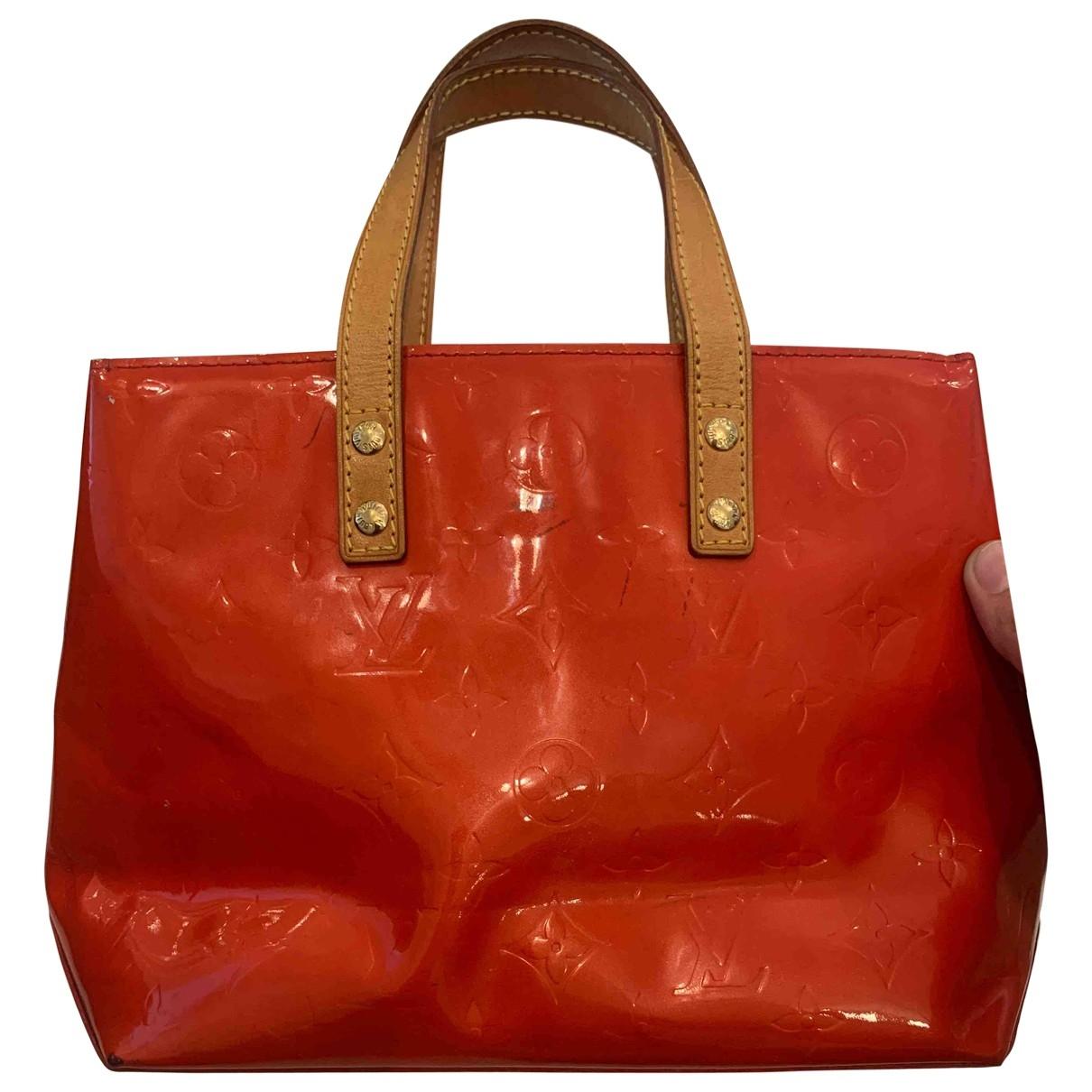 Louis Vuitton Catalina Handtasche in  Rot Lackleder