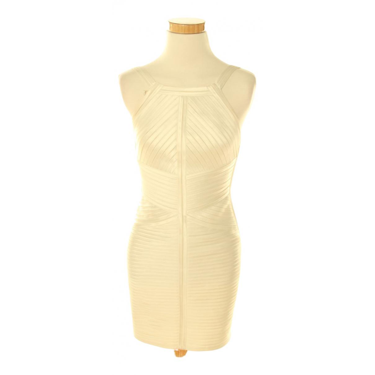 Bcbg Max Azria N White dress for Women 36 FR