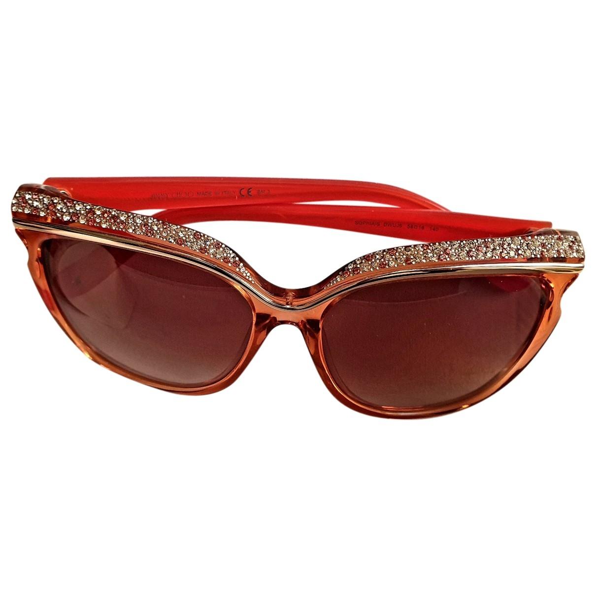 Jimmy Choo \N Orange Sunglasses for Women \N