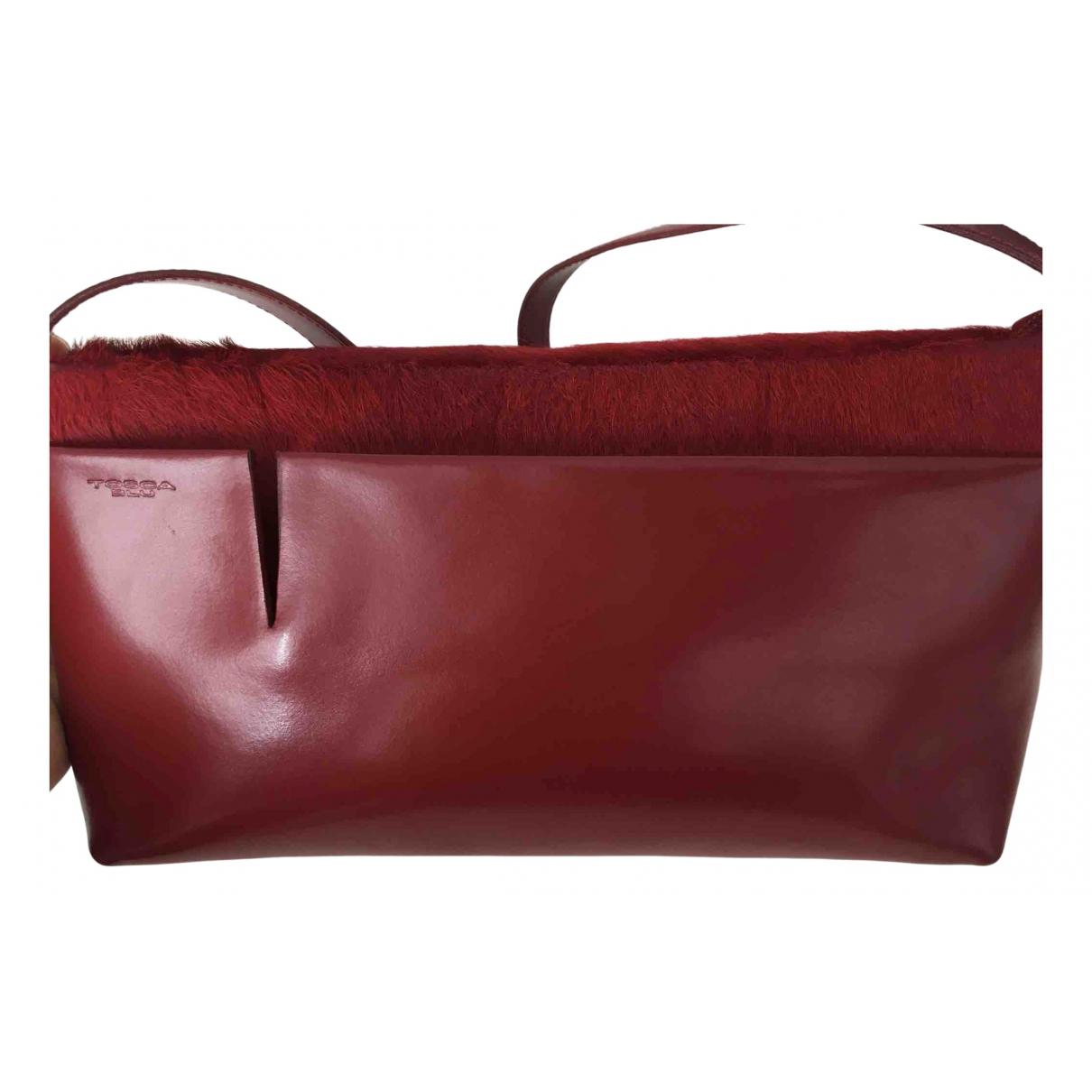 Tosca Blu - Pochette   pour femme en cuir - rouge