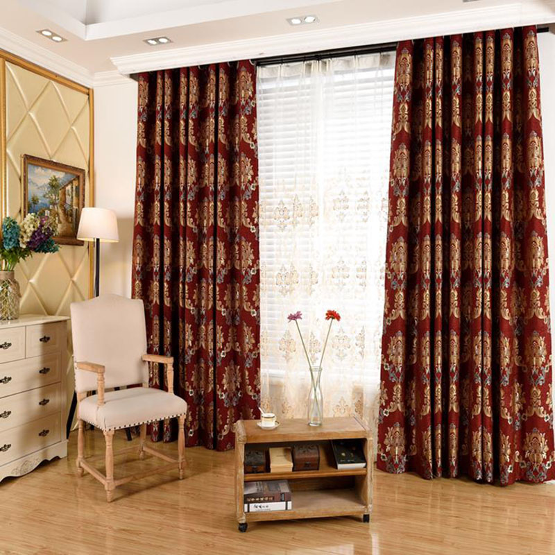 Luxury Embroidery Ventilate Custom Living Room Sheer Curtains No Pilling No Fading No off-lining