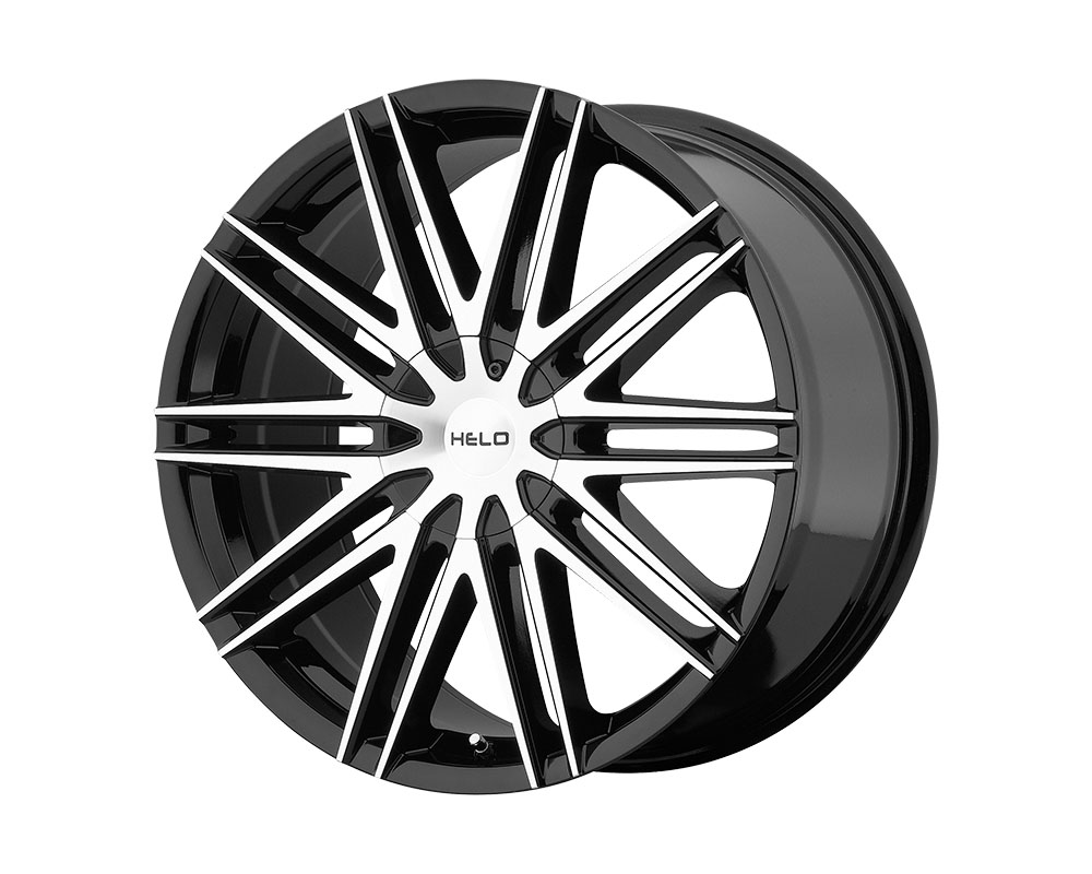 Helo HE880 Wheel 18x8 5x5x110/5x114.3 +42mm Gloss Black Machined Face