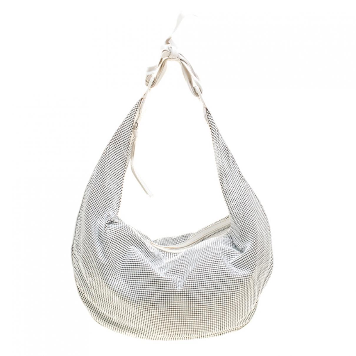 Chloe \N Handtasche in  Weiss Metall
