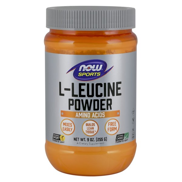 L-Leucine Powder 9 oz by Now Foods