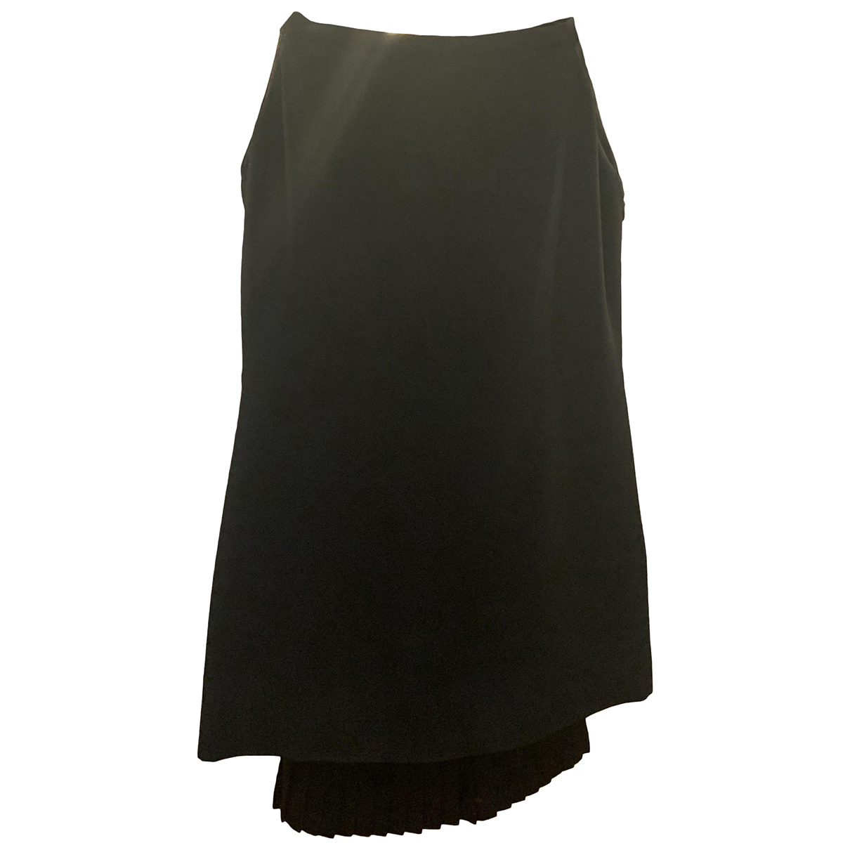 Versace \N Kleid in  Schwarz Viskose