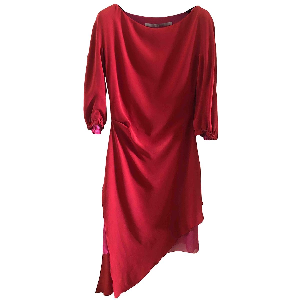 Maxi vestido de Seda Emanuel Ungaro