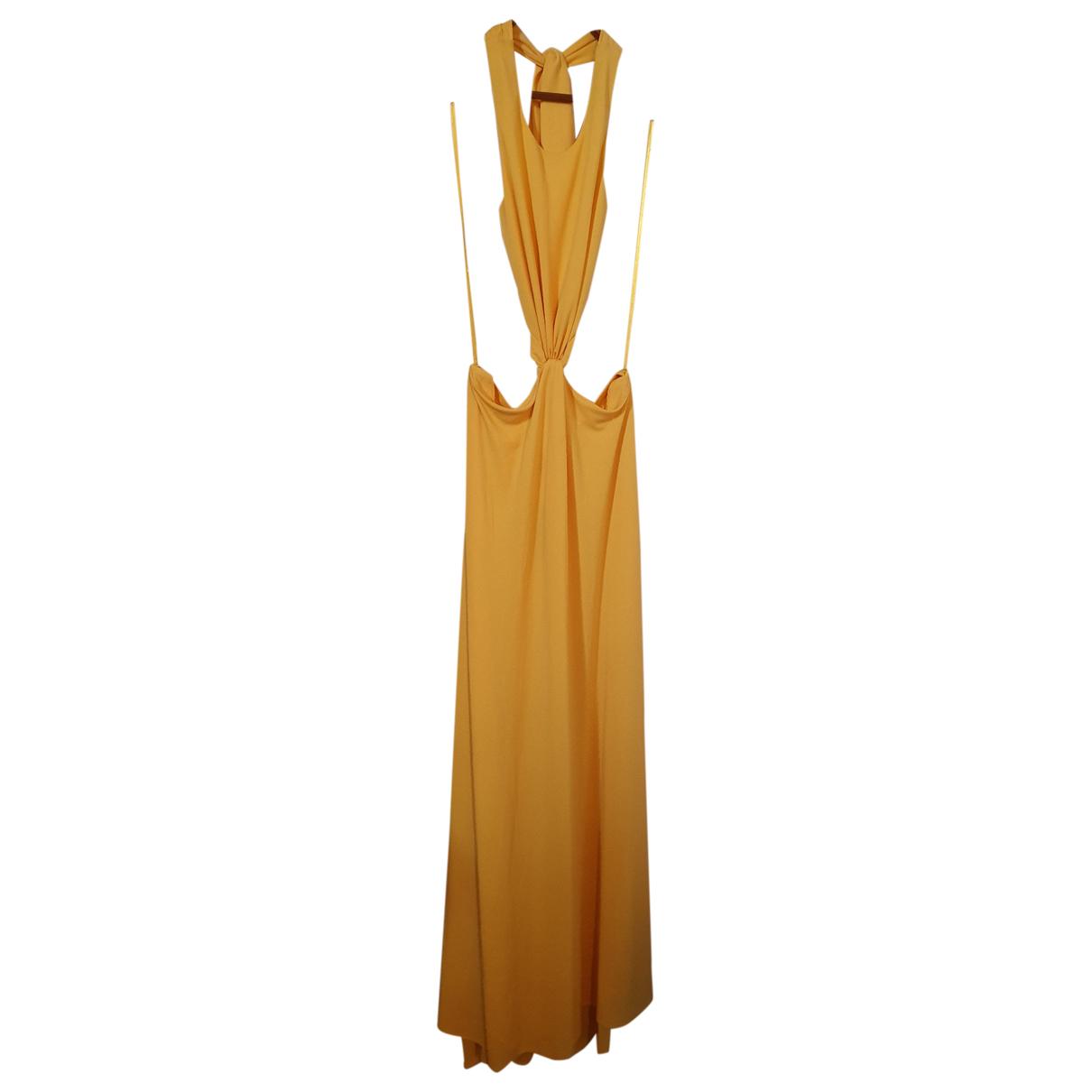 Bcbg Max Azria \N Kleid in  Gelb Polyester