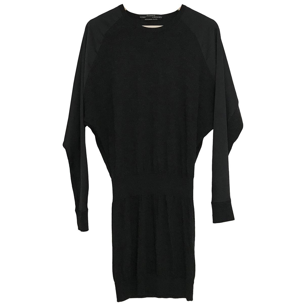 All Saints \N Kleid in  Schwarz Wolle