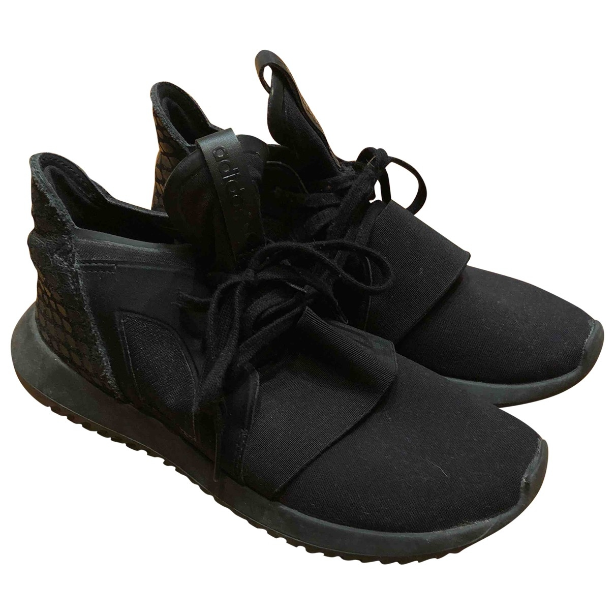 Adidas - Baskets Tubular pour femme - noir