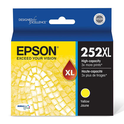 Epson 252XL T252XL420 Original Yellow Ink Cartridge High Yield