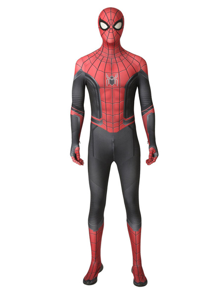Milanoo Halloween Carnaval Spider Man Far From Home Traje De Cosplay De Halloween Edicion De Lujo