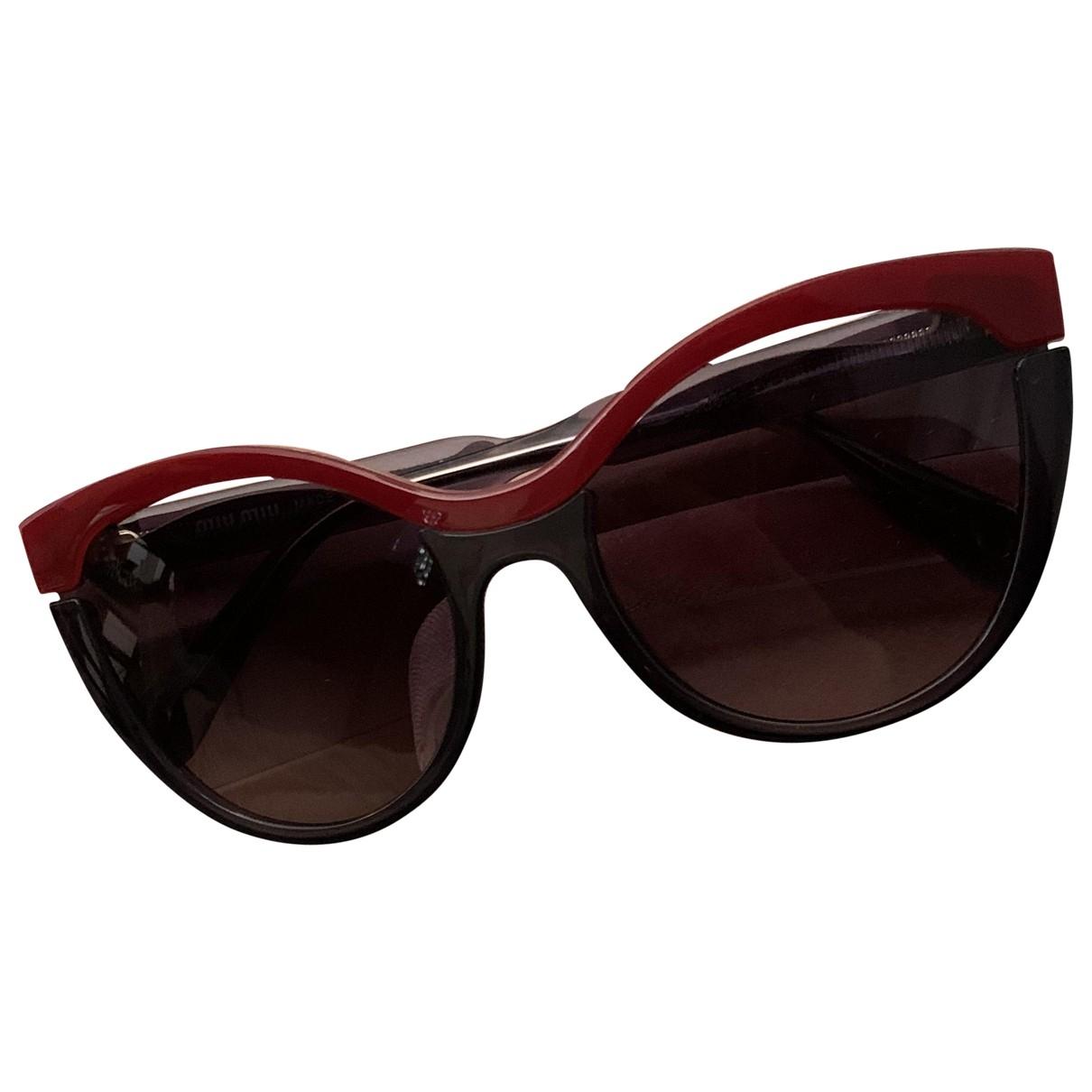 Miu Miu \N Red Sunglasses for Women \N