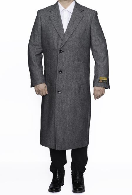 Mens Big And Tall Coat Raincoats Overcoat Topcoat 4XL 5XL 6XL Grey