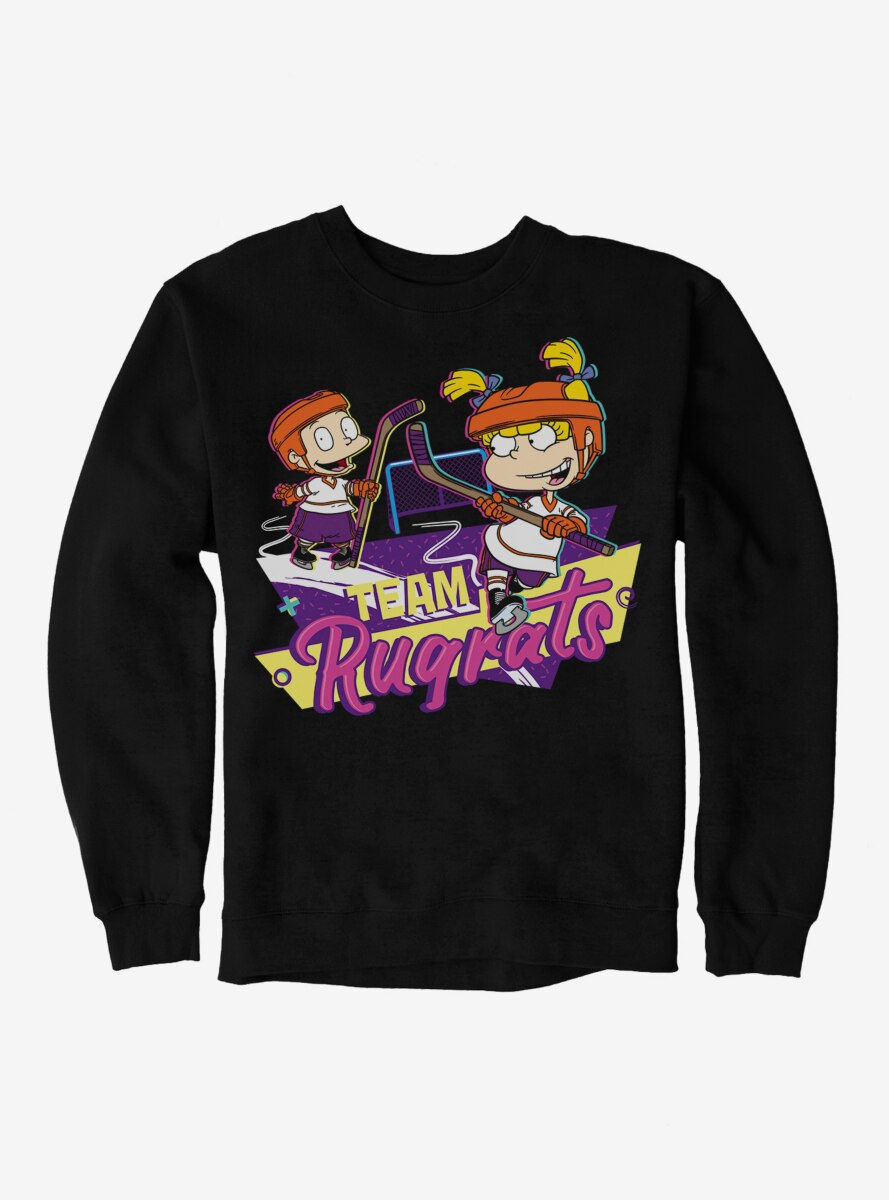 Rugrats Tommy And Angelica Team Rugrats Sweatshirt