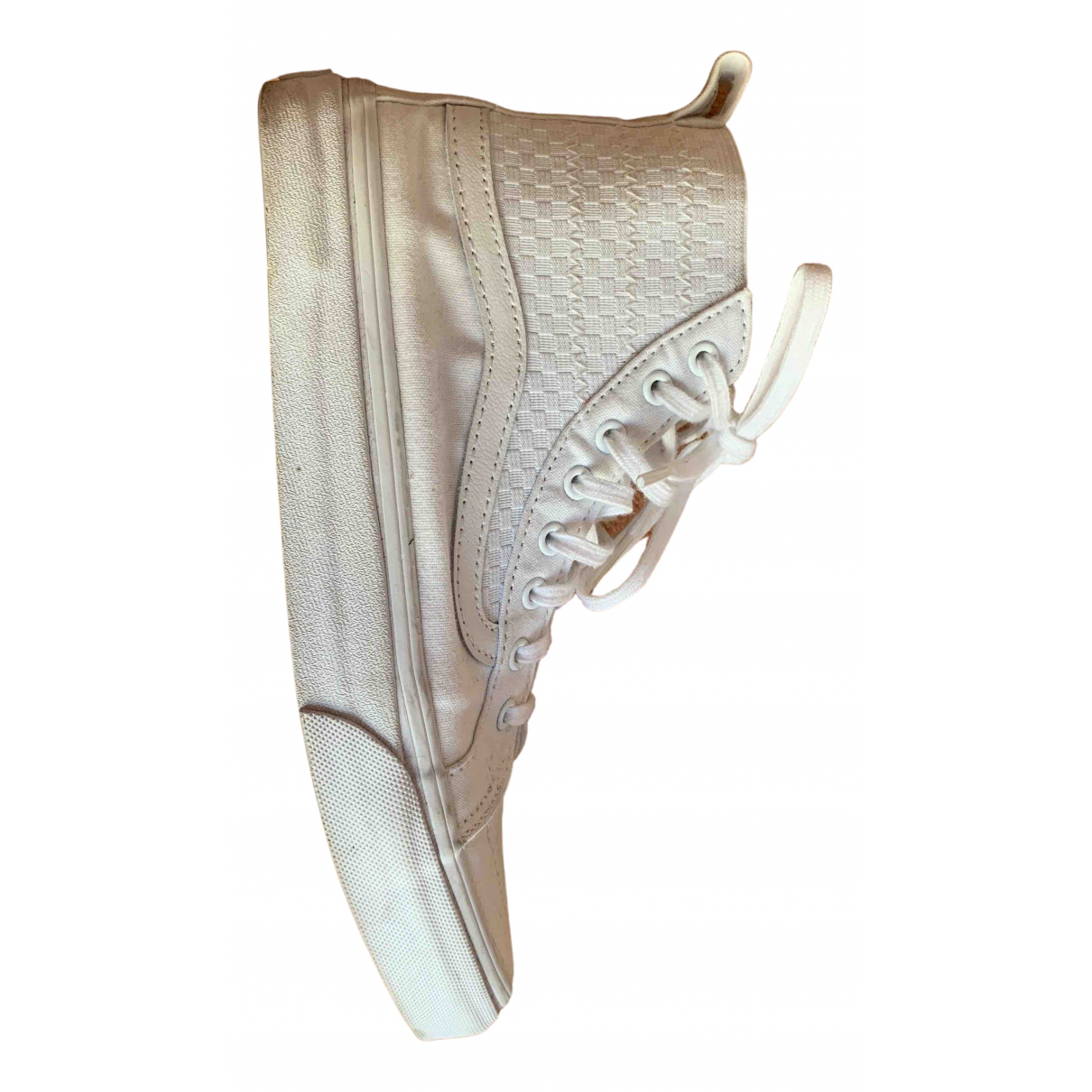 Vans N White Cloth Trainers for Women 38.5 EU