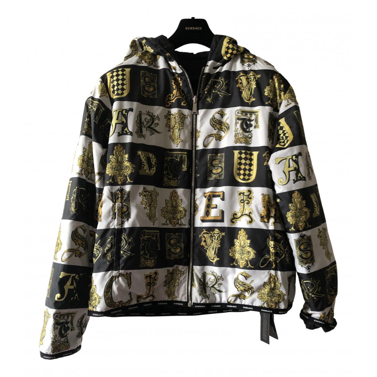 Versace \N Jacke in  Bunt Synthetik