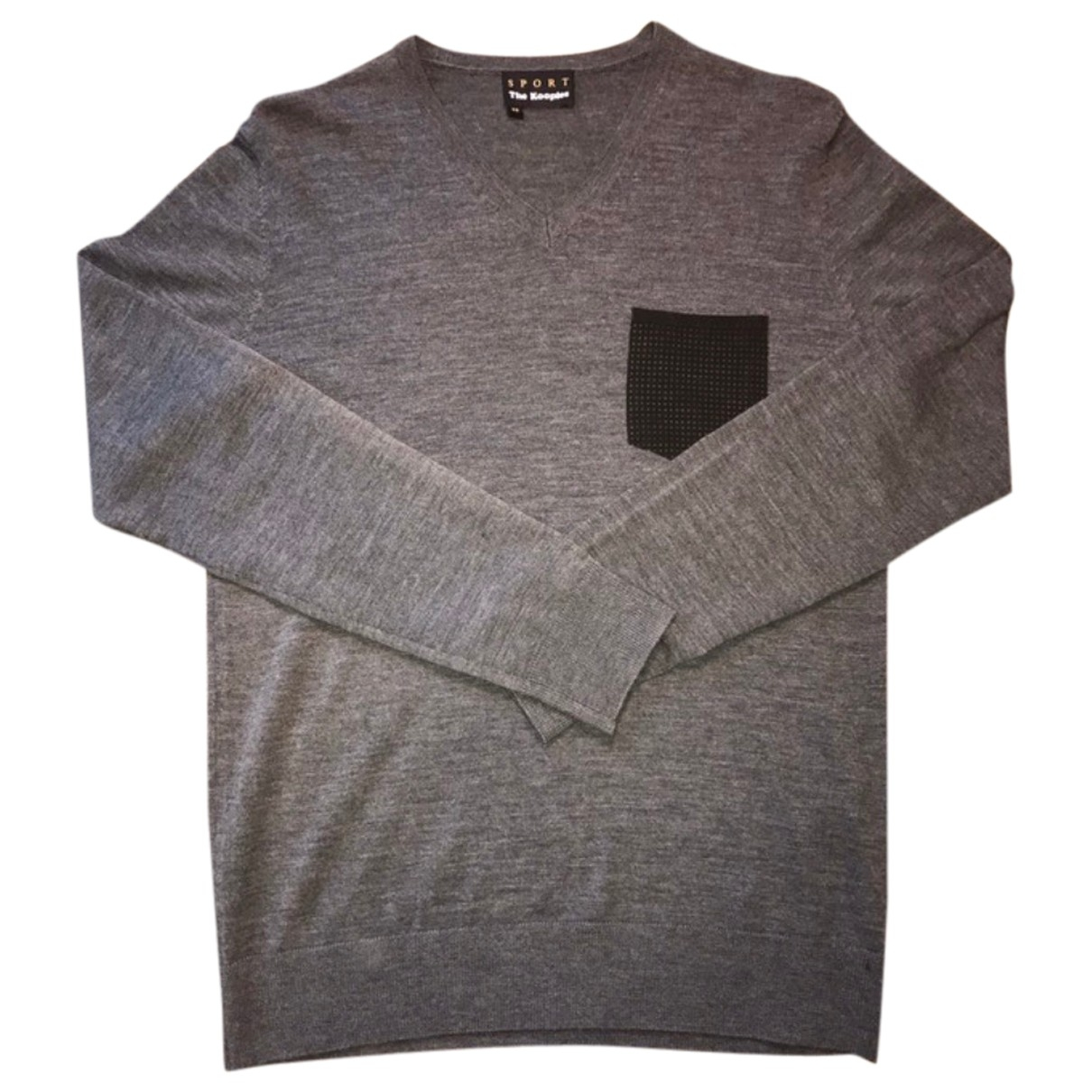 The Kooples \N Anthracite Wool Knitwear & Sweatshirts for Men S International