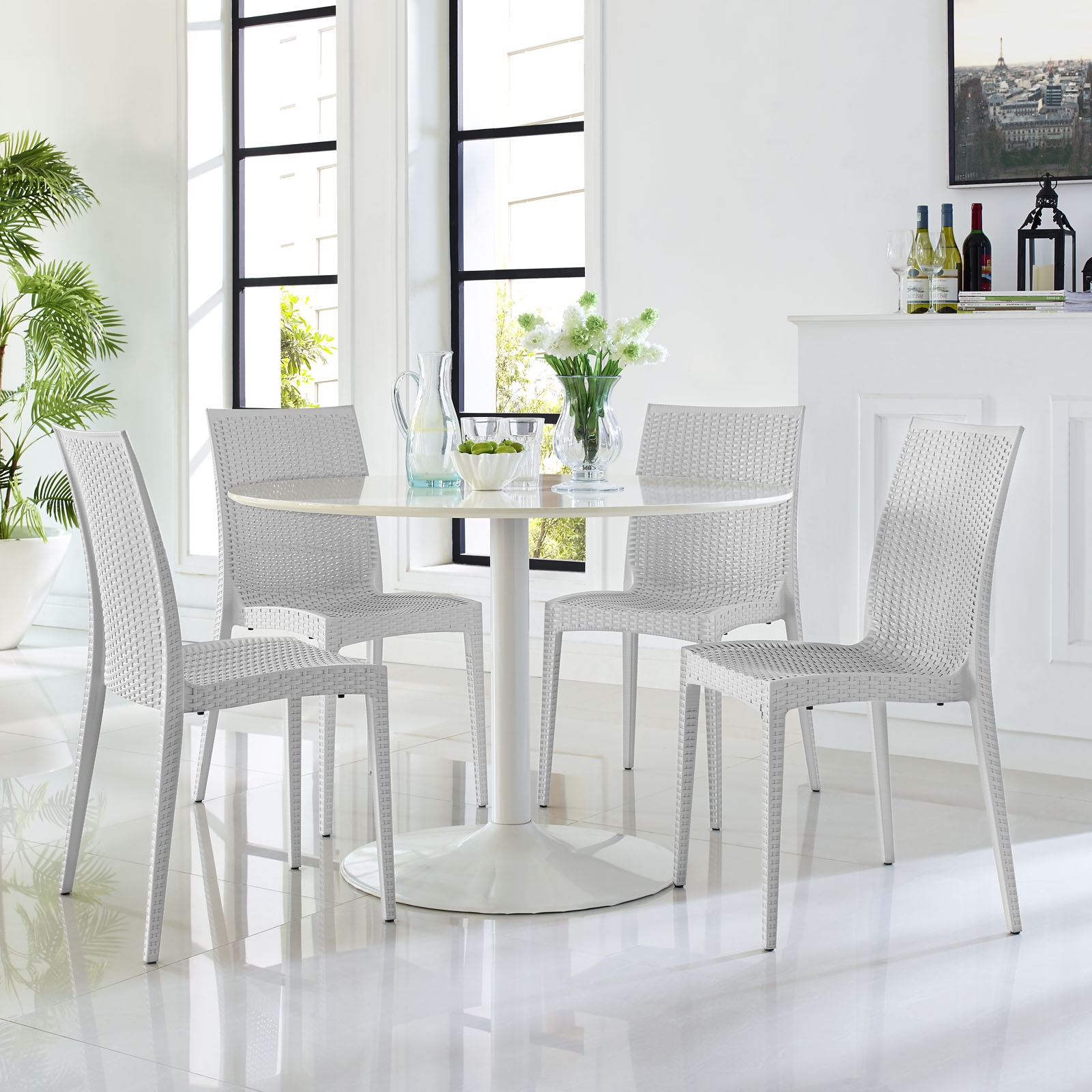 Intrepid Dining Side Chair in Gray