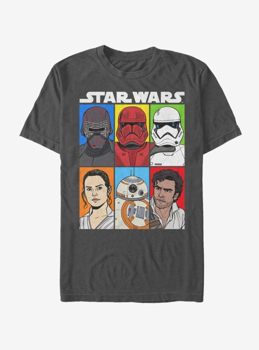 Star Wars Episode IX The Rise Of Skywalker Friend of Foe T-Shirt