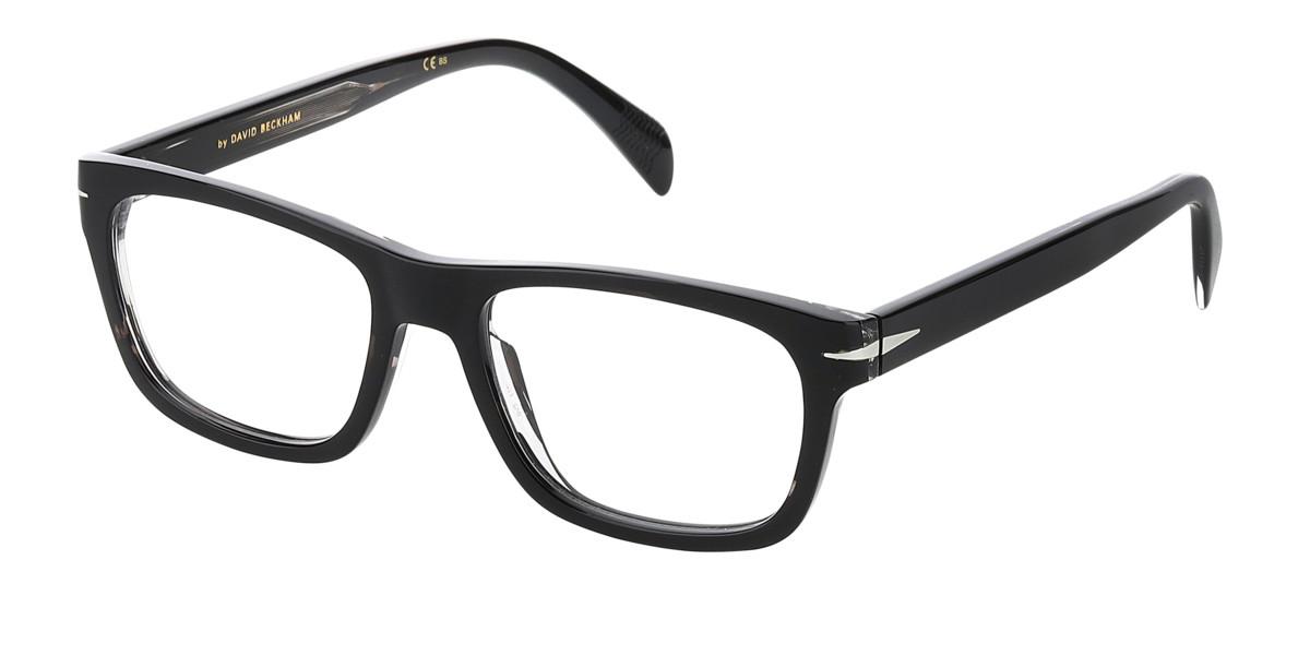 David Beckham DB 7011 2W8 Men's Glasses Black Size 52 - Free Lenses - HSA/FSA Insurance - Blue Light Block Available
