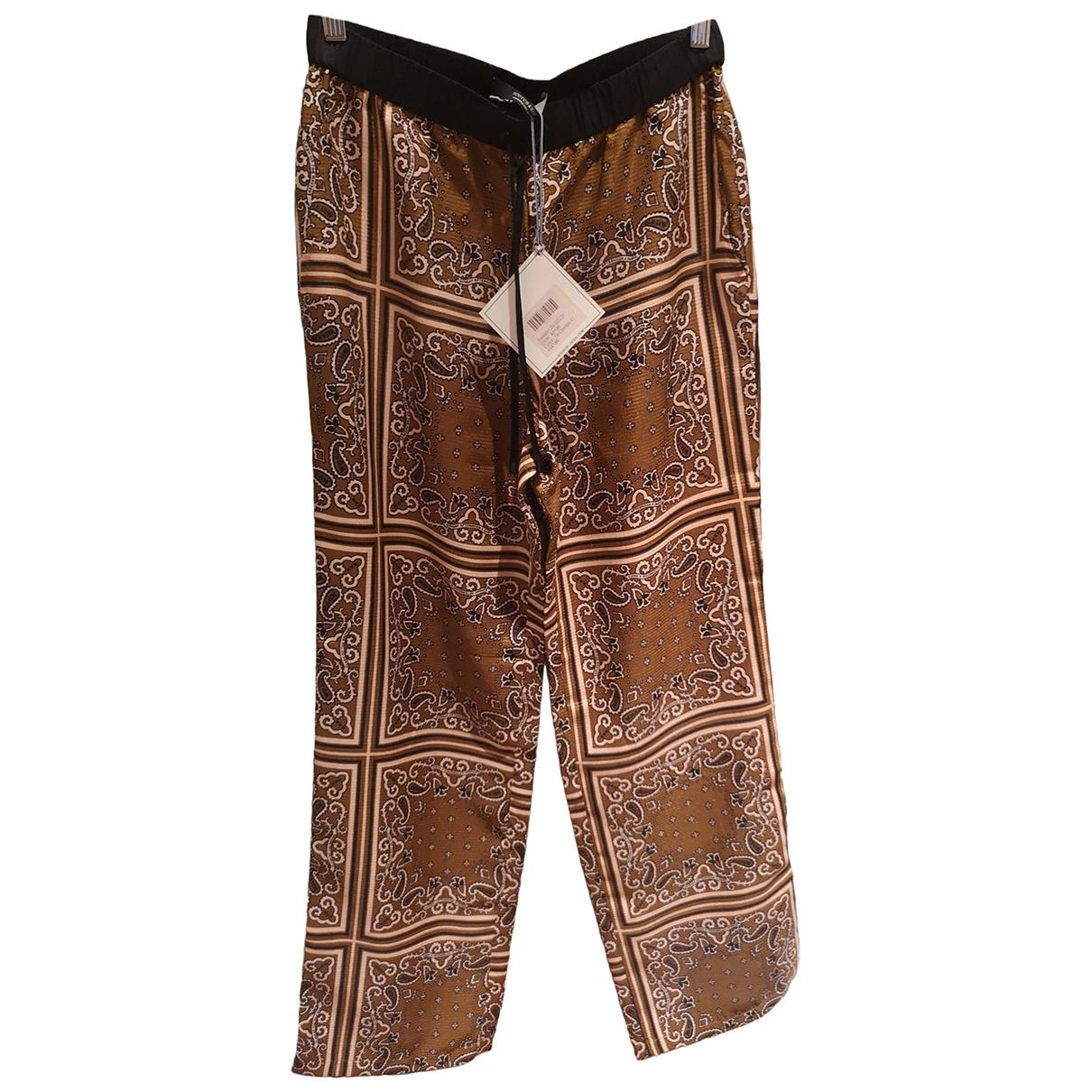 Scotch & Soda N Camel Trousers for Women S International
