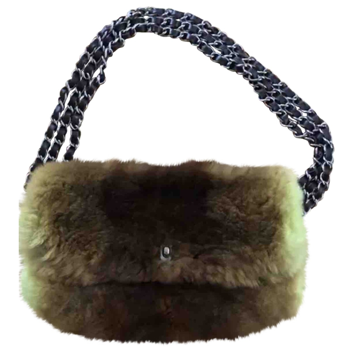 Chanel \N Green Chinchilla handbag for Women \N