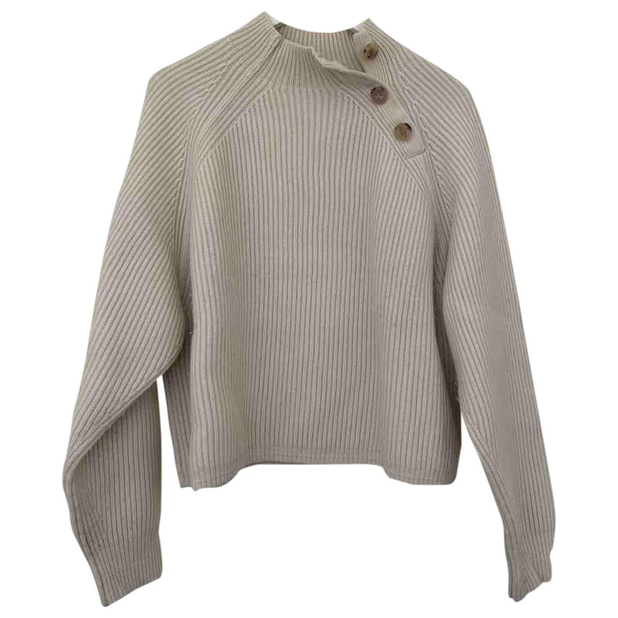 Acne Studios - Pull   pour femme en laine - beige