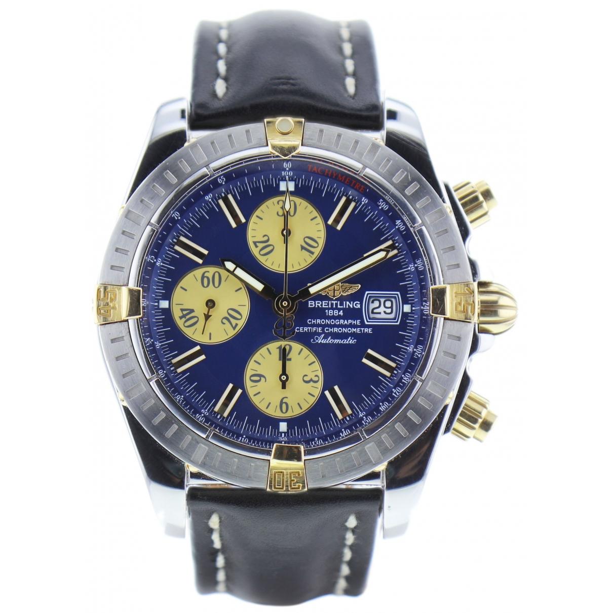 Breitling Chrono-Matic  Khaki Steel watch for Men \N