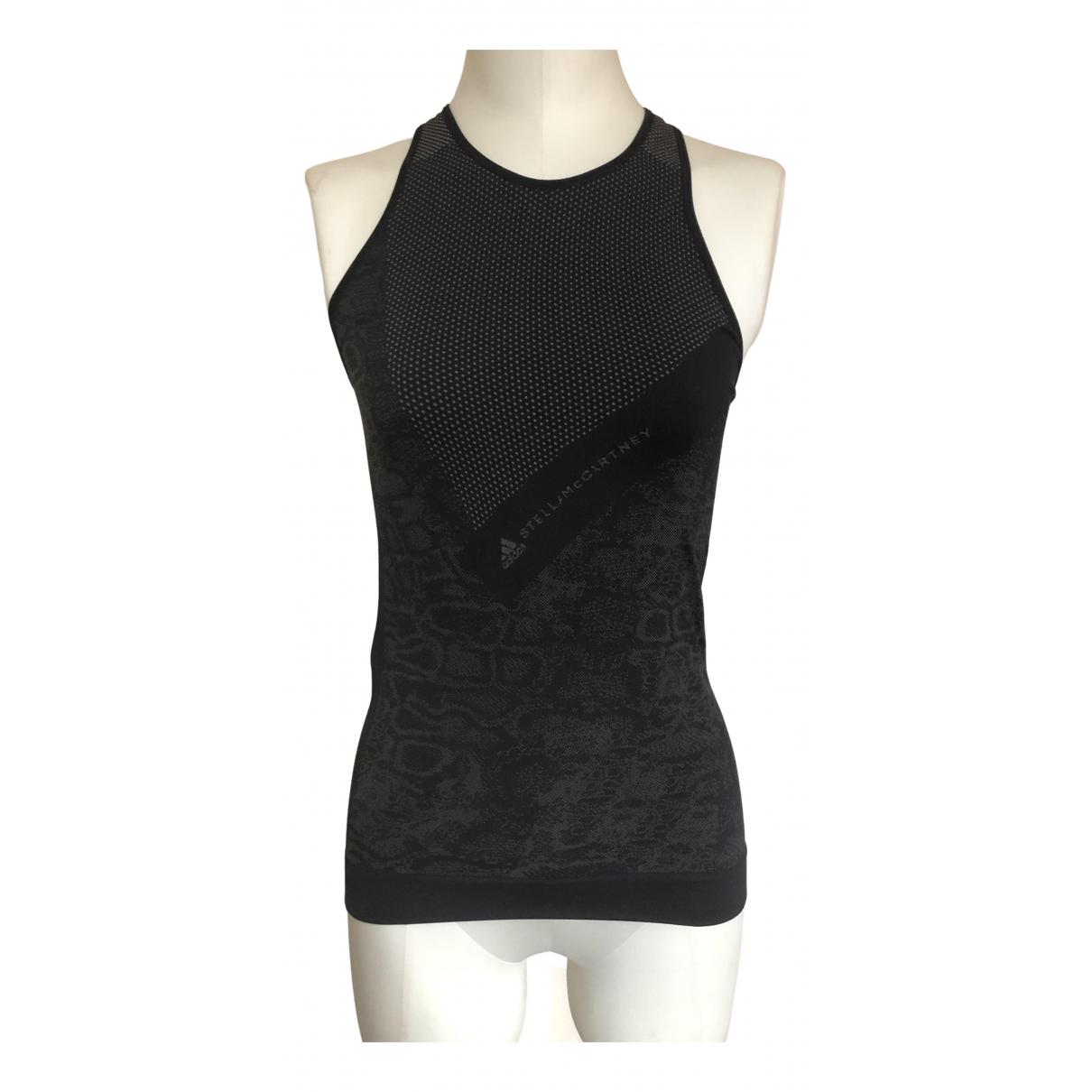Stella Mccartney Pour Adidas \N Top in  Schwarz Baumwolle