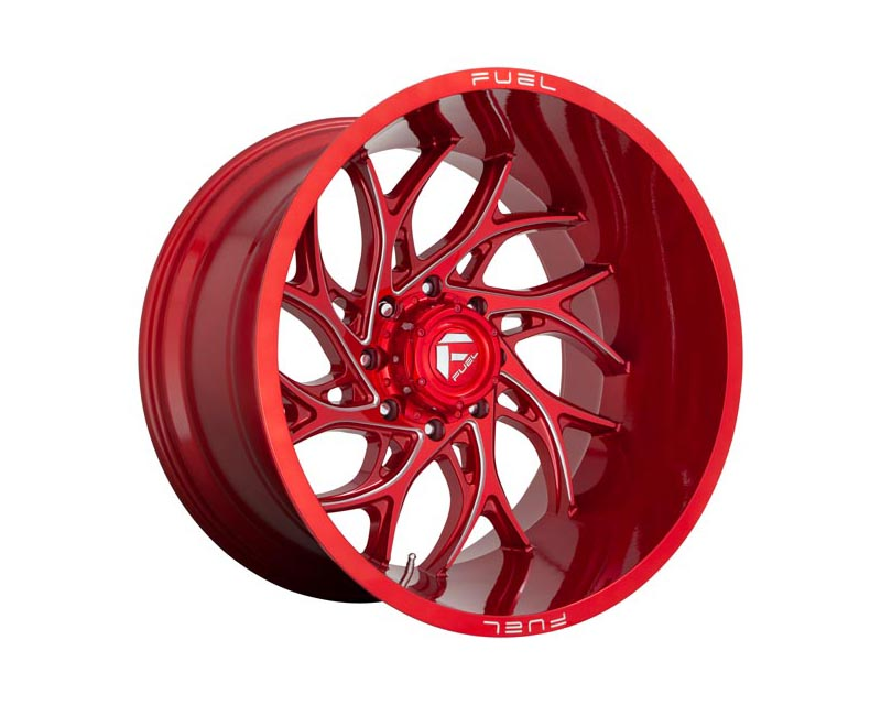 Fuel D742 Runner Wheel 22x10 5x127 -18 Candy Red Milled