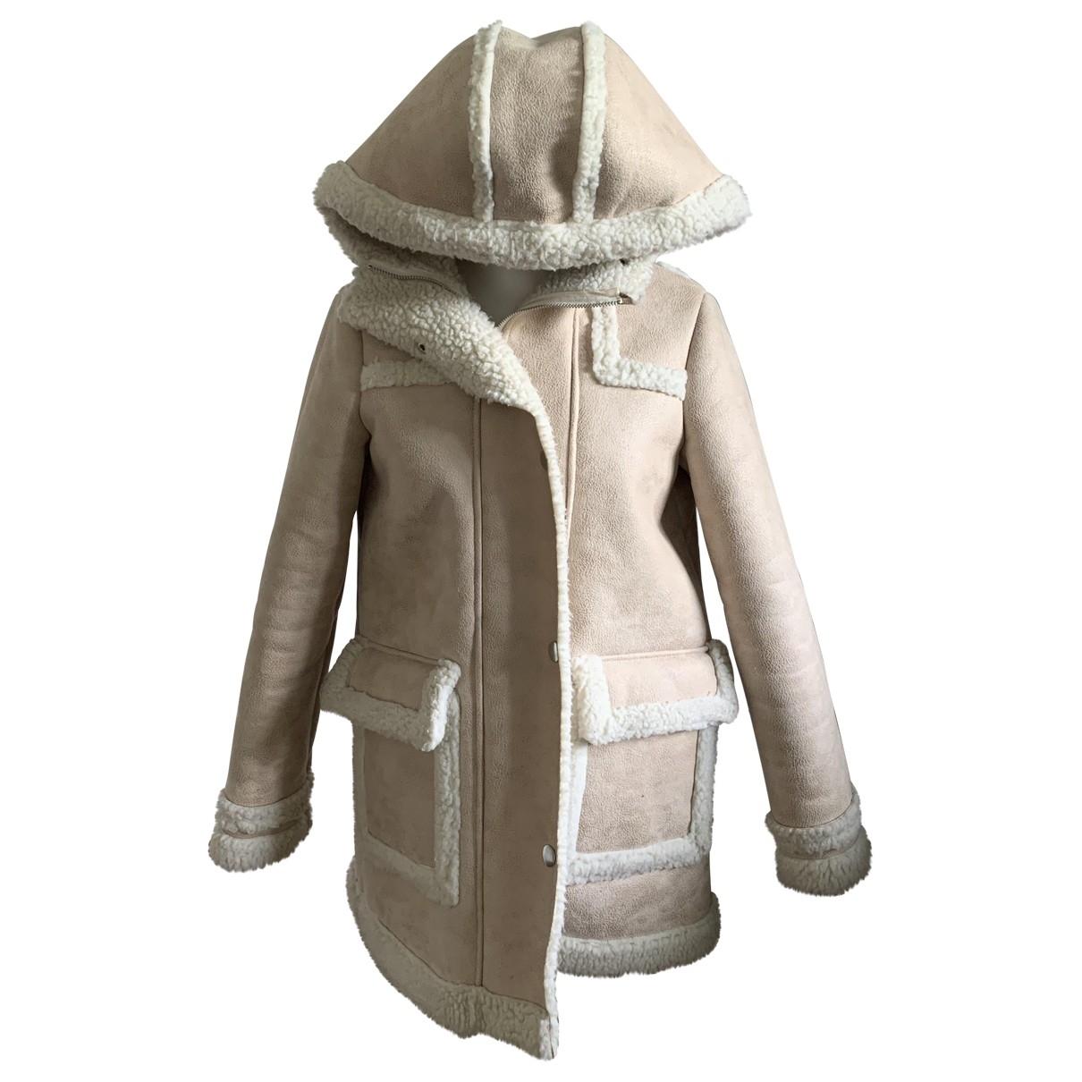 Maje \N Camel coat for Women 36 FR