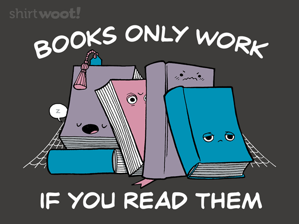 The Secret Of Books T Shirt