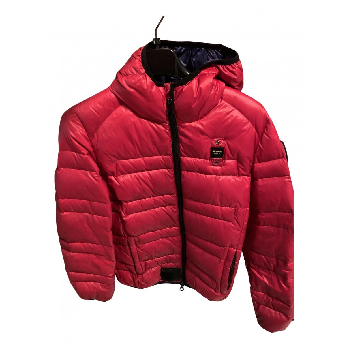 Blauer - Blousons.Manteaux   pour enfant en cachemire - rouge