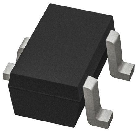 Nexperia BC847CW,135 NPN Transistor, 100 mA, 45 V, 3-Pin SOT-323 (10000)