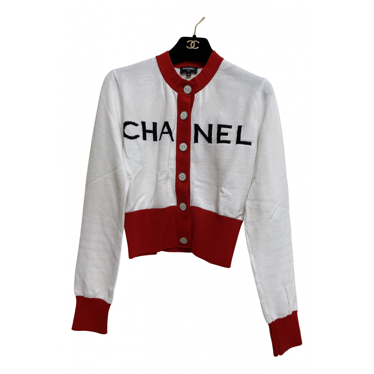 Chanel \N White Cotton Knitwear for Women 34 FR