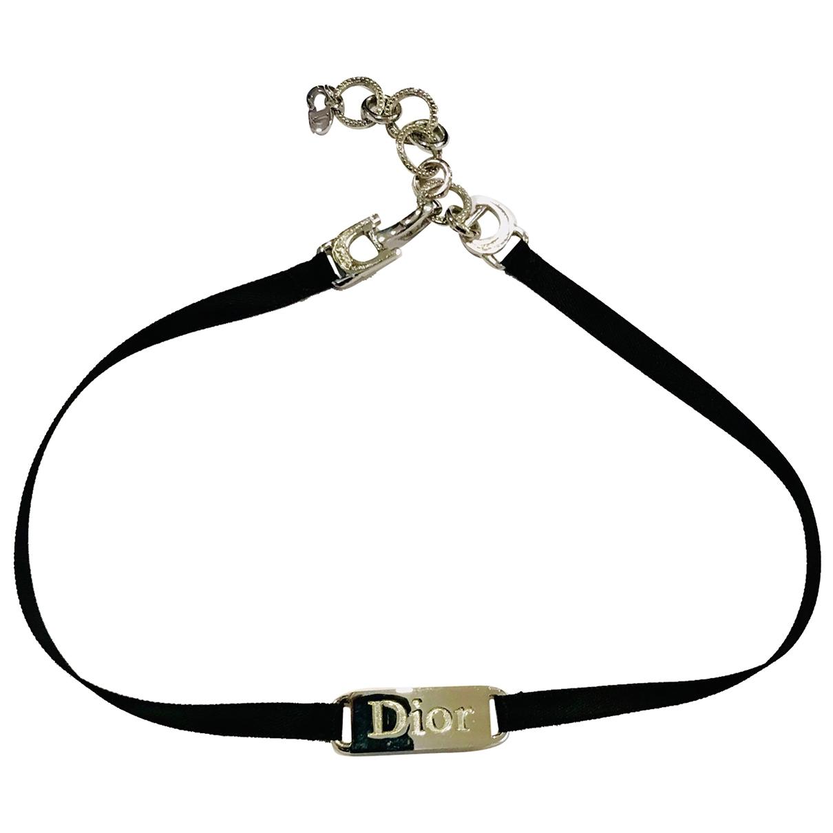 Dior - Collier   pour femme en metal - noir