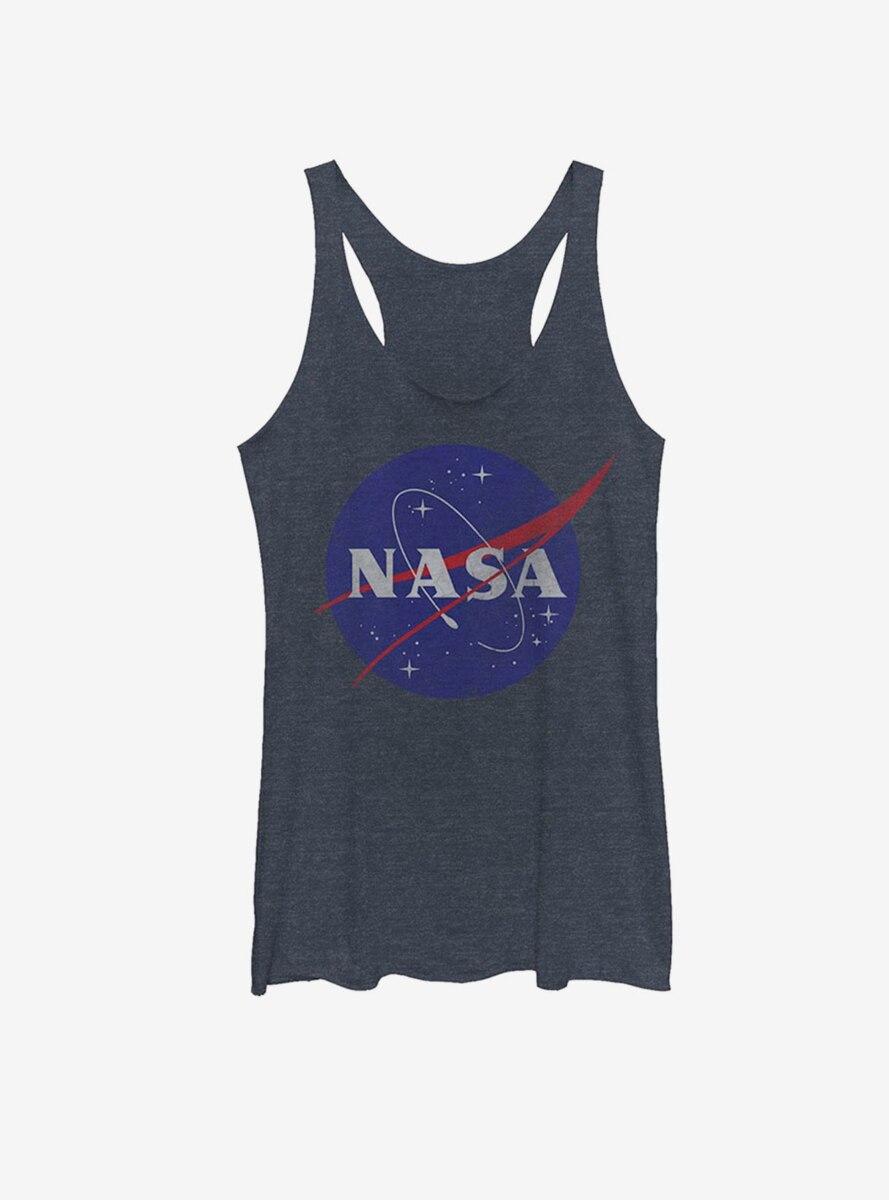 NASA Classic Logo Womens Tank Top