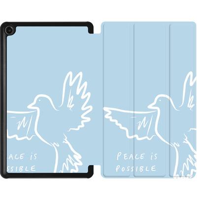 Amazon Fire 7 (2017) Tablet Smart Case - Peace is Possible von caseable Designs