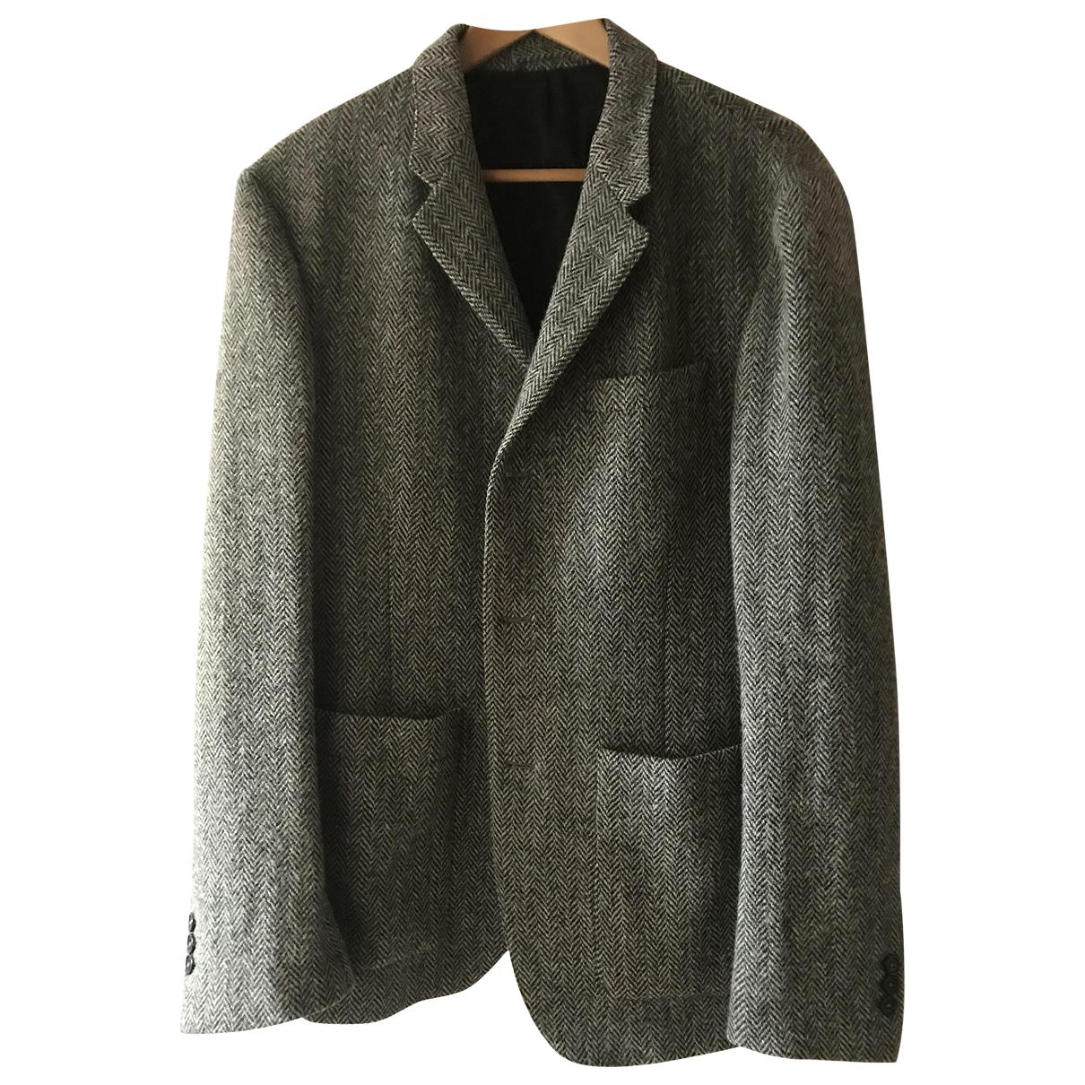 Margaret Howell - Vestes.Blousons   pour homme en tweed - gris