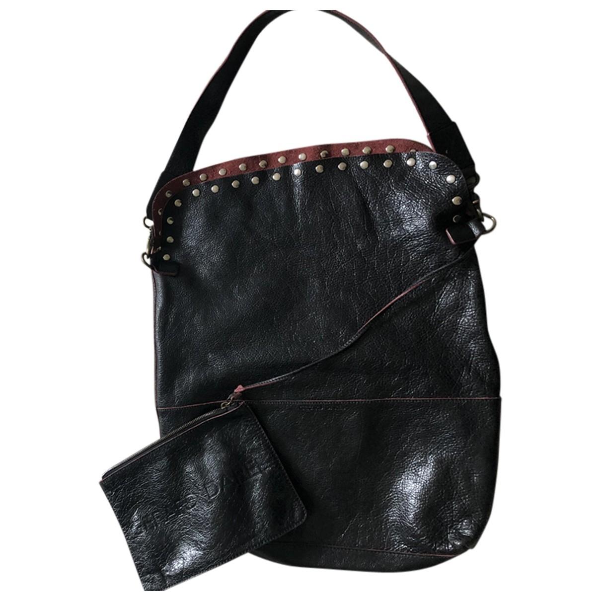 Gerard Darel \N Black Leather handbag for Women \N