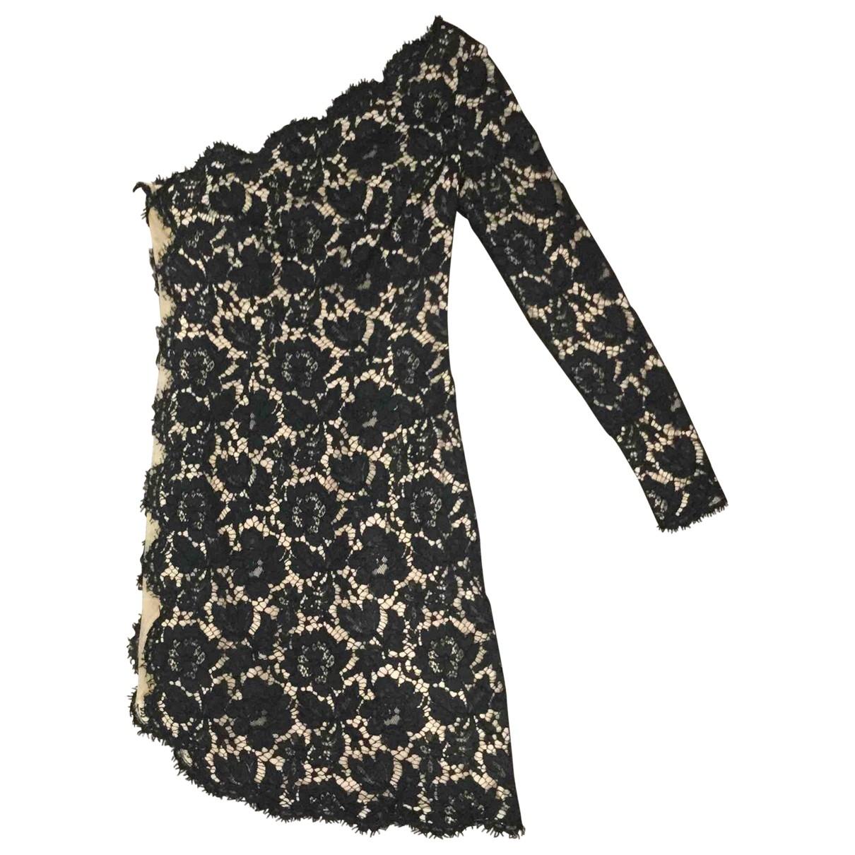 Stella Mccartney \N Kleid in  Schwarz Spitze