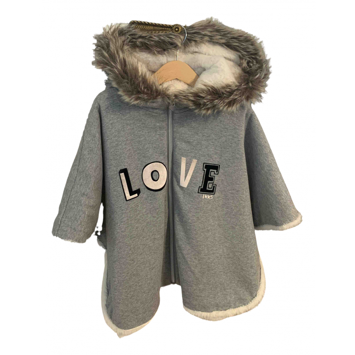 Ikks N Silver Faux fur jacket & coat for Kids 10 years - up to 142cm FR