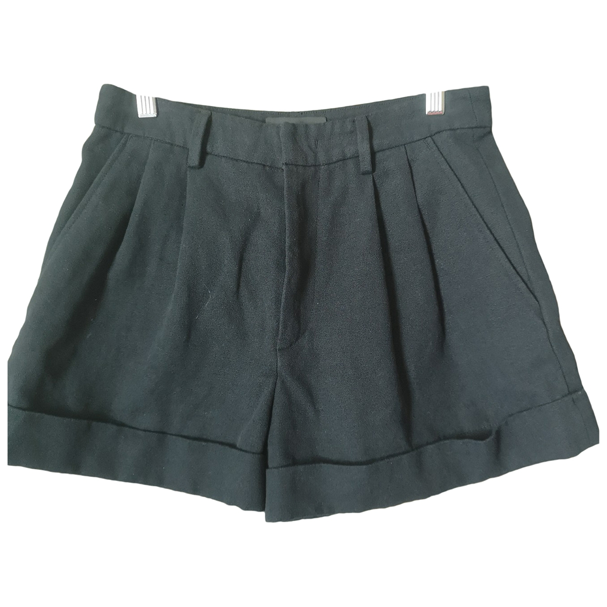 Isabel Marant \N Black Cotton Shorts for Women 38 FR