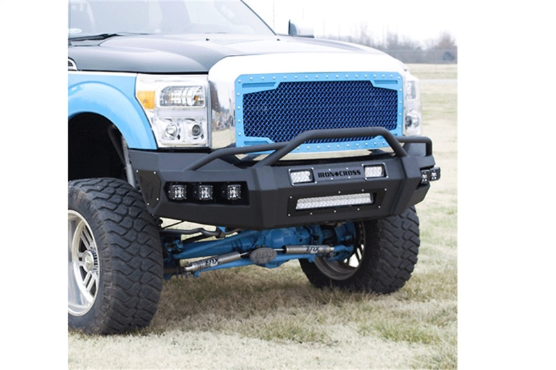 Iron Cross 60-415-18 Hardline Front Bumper w/o Bar - Matte Black Ford F-150 2018-2021