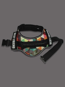 1pc Graphic No Pull Dog Harness