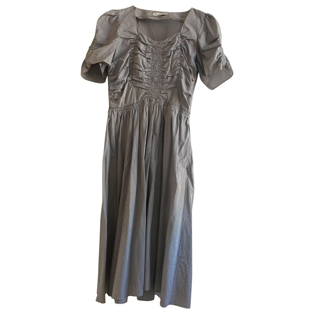 J.w. Anderson - Robe   pour femme en coton - bleu